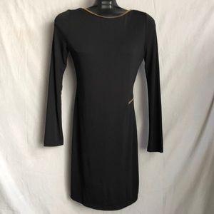 D5-163.  ANGL DRESS  SIZE L COLOR BLACK